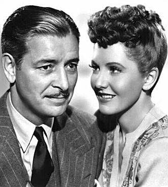 Ronald Colman - with Jean Arthur in Talk of the Town (1942)