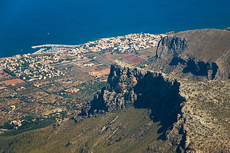 Colònia de Sant Pere - Image: Colonia Sant Pere from air