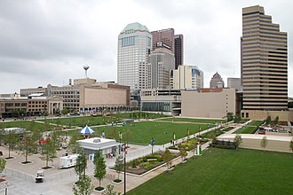Neighborhoods in Columbus, Ohio - Columbus Commons Park