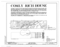 Comly Rich House, 4276 Orchard Street, Philadelphia, Philadelphia County, PA HABS PA,51-PHILA,534- (sheet 1 of 4).png