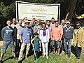 Congresswoman Pelosi Volunteers at AIDS Memorial Grove (35370317616).jpg