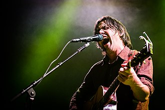 Conor Oberst - Oberst at The Fillmore in San Francisco, October 2014.