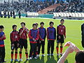 Consadole Sapporo Youth U-15, after the game, 20091227-06.jpg
