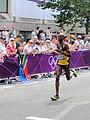 Coolboy Ngamole (South Africa) - London 2012 Men's Marathon.jpg