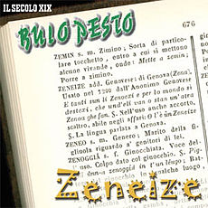 Copertina del disco Zeneize