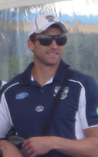 Corey Enright - Enright with Geelong in 2011