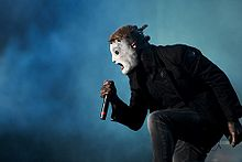 Corey Taylor of Slipknot at Optimus Alive Festival 2009 2.jpg