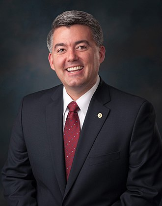 United States congressional delegations from Colorado - Senator Cory Gardner (R)