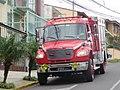 Costa Rican fire engine (camión de bomberos), front view.jpg