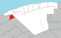 Coulée-des-Adolphe Quebec location diagram.png