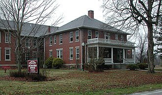 National Register of Historic Places listings in Athens County, Ohio - Image: County home 1