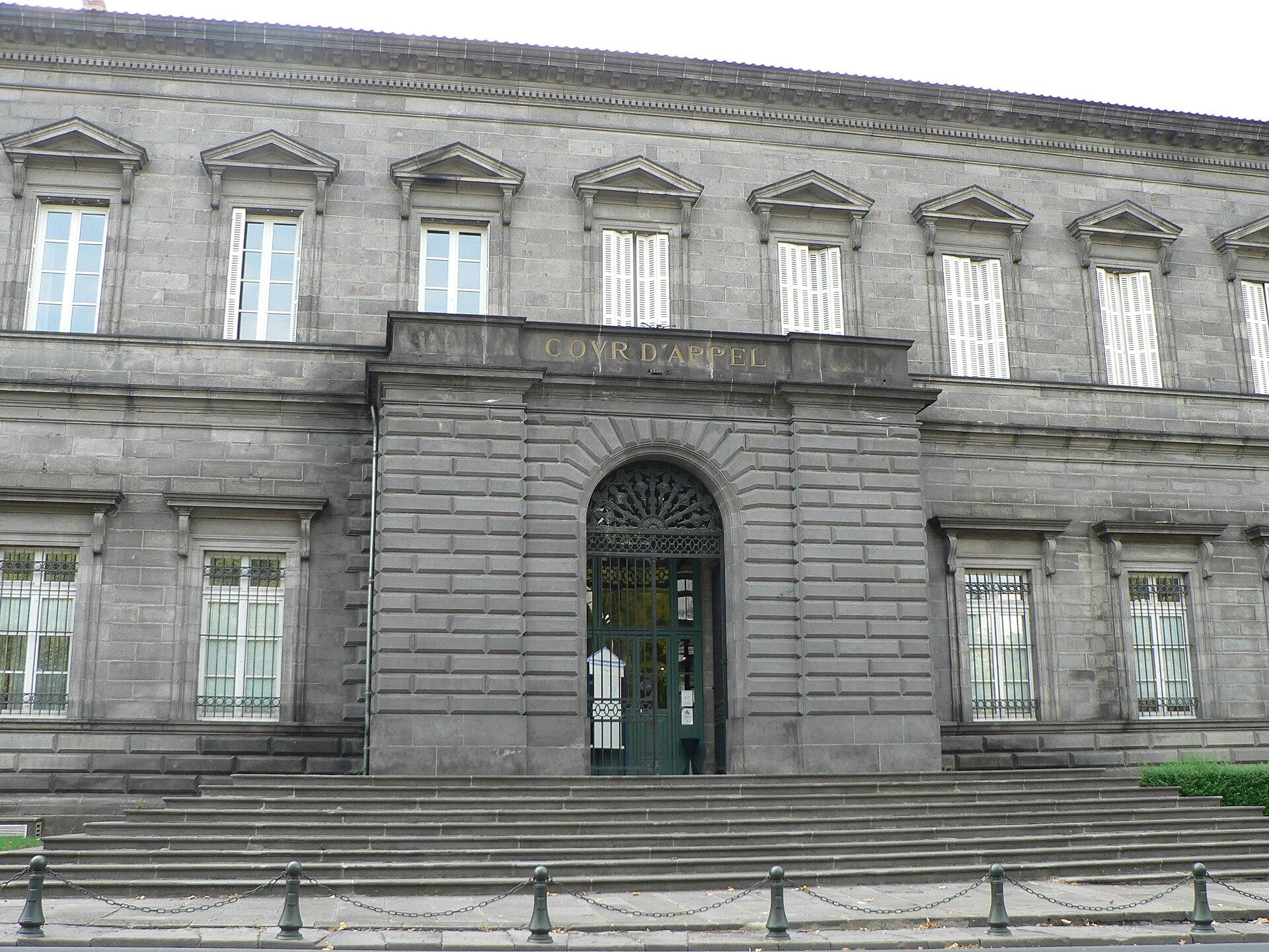 Cour d 39 appel de riom wikip dia - Chambre correctionnelle cour d appel ...