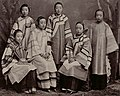 Courtesans in Shanghai by Afong c1875-80 (cropped).jpg