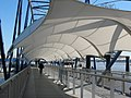 Covered gangway to the QE2 pier - geograph.org.uk - 2316735.jpg