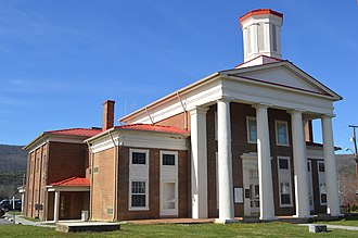 Craig County, Virginia - Image: Craig County Courthouse, New Castle