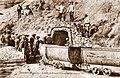 Cransac (Aveyron) Mine du Parc - Aceries de France - Une entree de mine au Parc.jpg