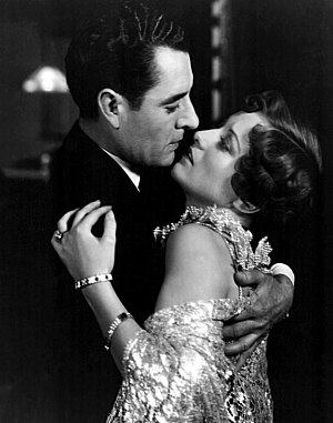 Joan Crawford - With John Gilbert in the film Four Walls (1928)