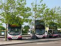 Cribbs Causeway - First 37330 (WX57HKL) 37326 (WX57HKG) and 32013 (W813PAE).jpg