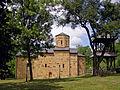 Crkva Svetog Save, Savinac kraj Gornjeg Milanovca, izgled sa juzne strane.jpg