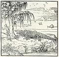 Crocodiles in Egypt - Thevet André - 1556.jpg