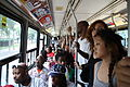Crowded streetcar during Caribana, 2009.jpg