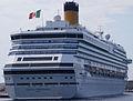Cruise Ship Costa Concordia in Rhodes - April 2009.jpg