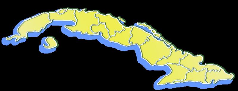FileCuba Provincesmappng Wikimedia Commons - Cuba provinces map