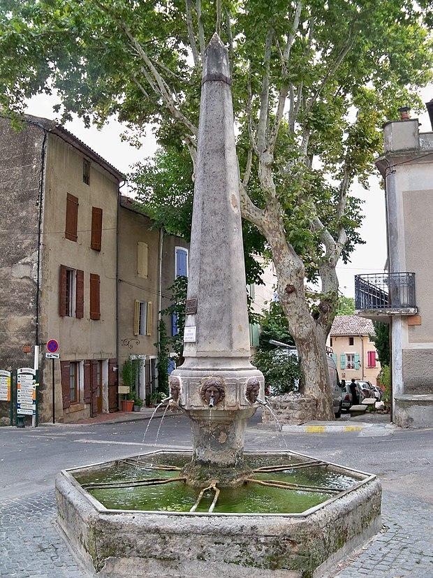 Monument historique à Cucuron