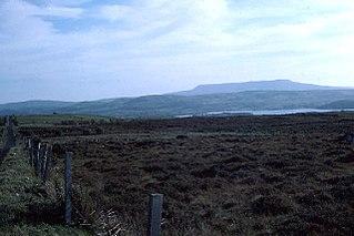 Cuilcagh Mountain in Cavan/Fermanagh, R. Ireland/N. Ireland
