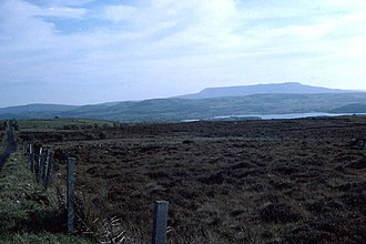Cuilcagh - Cuilcagh Mountain, viewed from Belmore Mountain
