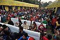 Cultural Function Spectators - Christmas Observance - Poush Mela - Citizens Park - Kolkata 2015-12-25 8062.JPG