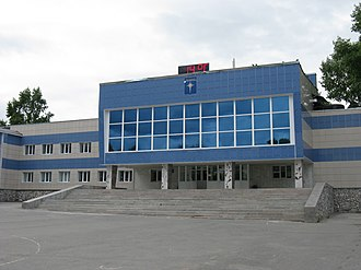 Closed city - The cultural center in Zvyozdny, Russia