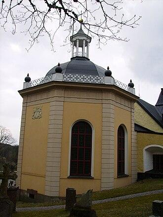 Curt von Stedingk - Grave site of Curt von Stedingk at Björnlunda church