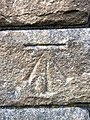 Cut Mark at Colne, Old Market Hall.jpg