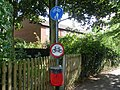Cycling Signs in Rugby Town Centre - geograph.org.uk - 2085687.jpg