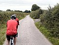 Cycling towards Thorverton - geograph.org.uk - 38012.jpg