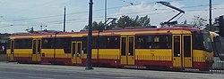 Düwag M8CN 14 Łódź Kaliska