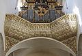 D-7-79-169-2 Kaisheim Kosterkirche Orgel Westempore 4.jpg