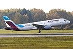 D-ABFO Airbus A320-200 Eurowings Europe HAM 2018-11-06 (1) (30839165557).jpg