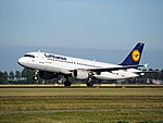 D-AIPY Lufthansa Airbus A320-211 cn161 takeoff from Schiphol (AMS - EHAM), The Netherlands pic1.JPG