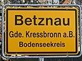 D-BW-Kressbronn aB-Betznau - Ortsschild 002.JPG
