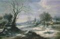 D. van Heil, Winterlandschap.PNG