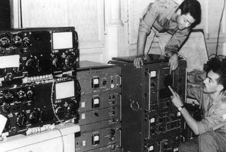 Département du Renseignement et de la Sécurité - Members of the National Communications department (DTN) of MALG