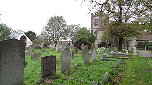 Dagenham Village Churchyard - Image: Dagenham Village Churchyard 6