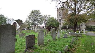 church in London Borough of Barking and Dagenham, UK