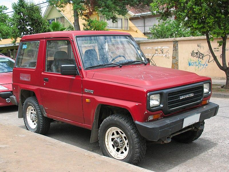 File:Daihatsu Rocky 2.0 1992 (15096460348).jpg