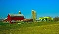 Dairy Farm with Three Silos - panoramio (6).jpg
