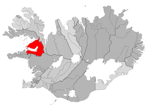 Dalabyggð - Image: Dalabyggd map