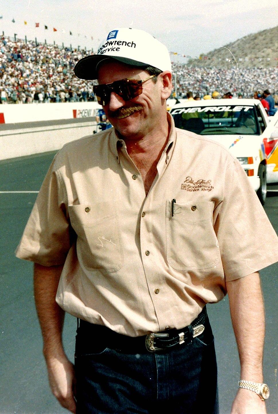 Dale Earnhardt - NASCAR Photography By Darryl Moran