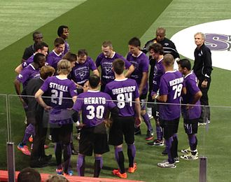 Dallas Sidekicks (2012–17) - Tatu coaching the team against the Rio Grande Valley Flash on November 30, 2012.